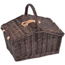 Picknickkoffer Weidengeflecht/2 Personen