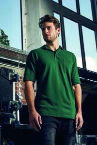 E4100 Polo Shirt Männer Kurzarm