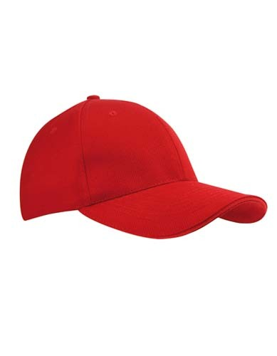 Canvas Structure Cap_Red_Red.