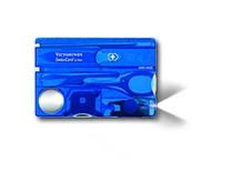 SwissCard Lite Saphir |13 Funktionen – ein helles LED-Licht