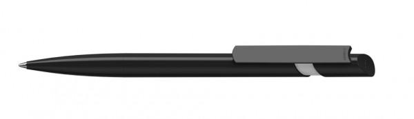 Kugelschreiber Cava high gloss schwarz/weiss