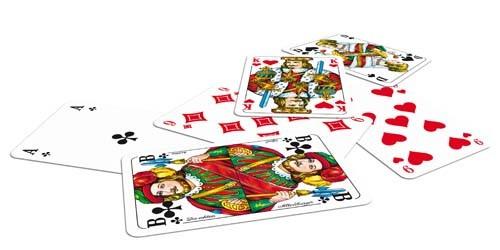 As-22570023 Doppelkopfkarten | französisches Bild