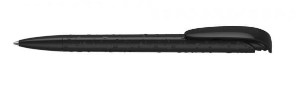 Kugelschreiber Jona structure/high gloss schwarz