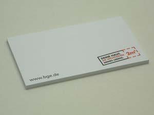 Haftnotizblocks 75 x 75 mm  | 100 Blatt