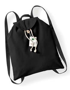 WM185 Organic Festival Backpack schwarz