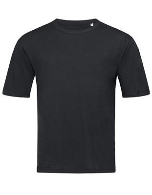 Slub Organic T-ShirtBlack-Opal.