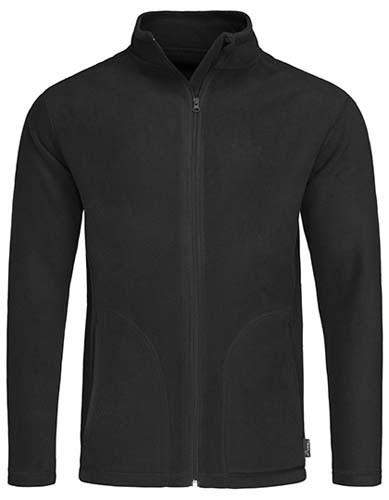 S5030 Active Fleece Jacket_Black-Opal