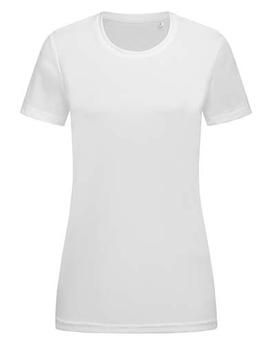 Active Sports-T Crew Neck for women_White