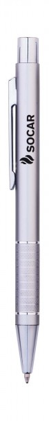 Kugelschreiber Valentia | Aluminium-Schaft_silber