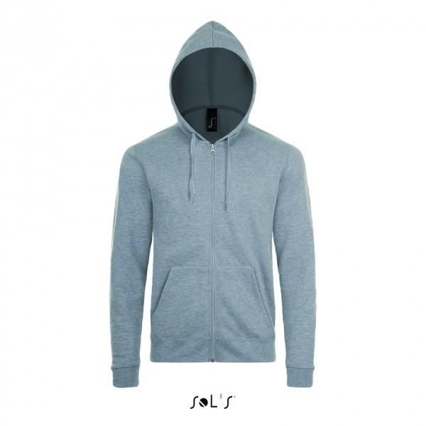 L01714 Sweat Jacken mit Kapuze