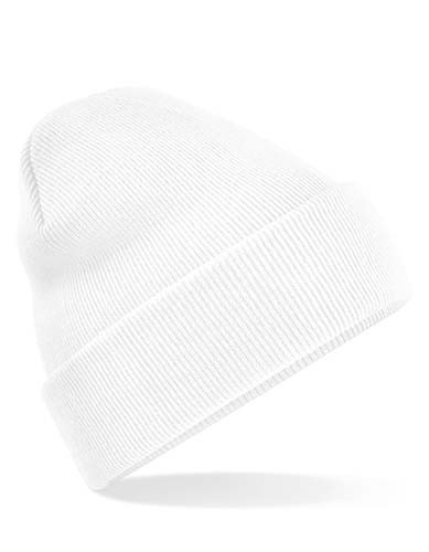 Original Cuffed Beanie_White