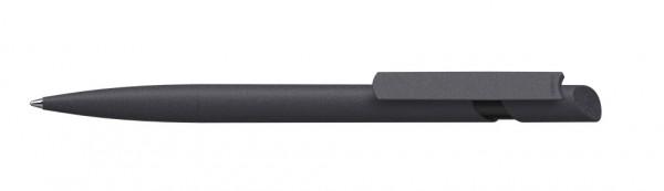 Kugelschreiber Cava softgrip/high gloss schwarz/schwarz