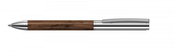 Kugelschreiber Fusion wood MMc Nussbaum
