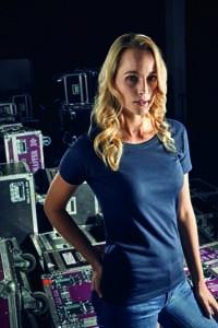 E3005 T-Shirt Damen Premium-T Rundhals Kurzarm