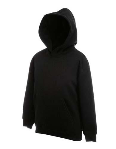 Kids Premium Hooded Sweat_Black
