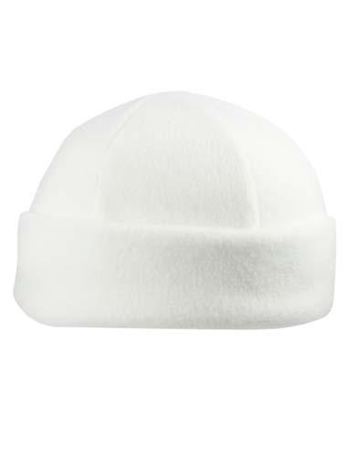 Fleece Winter Hat_White