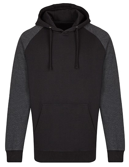 MY610 Men´s Hoody_Black_Heather-Black