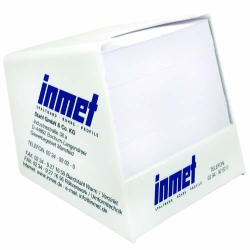 Zettelspeicher Kunststoff 105 x 105 x 105 mm