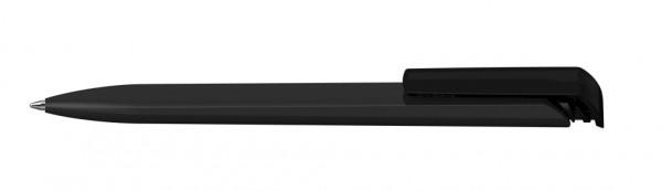 Kugelschreiber Trias softtouch schwarz/schwarz transparent