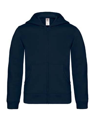 Hooded Full Zip Sweat / Kids_Navy