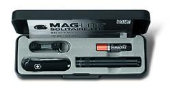 Maglite Set Solitaire LED | Schweizermesser + Lampe 8 cm