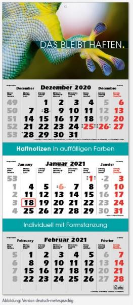 EXCLUSIVE | flatbarer 3-Monats-Kalender