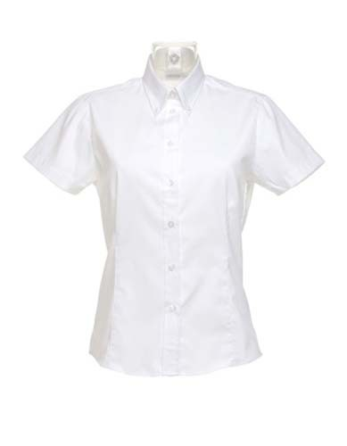 Women`s Tailored Fit Shirt Short Sleeve_White