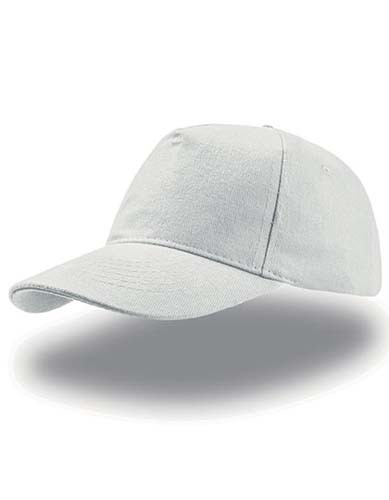 Liberty Five Buckle Cap_White