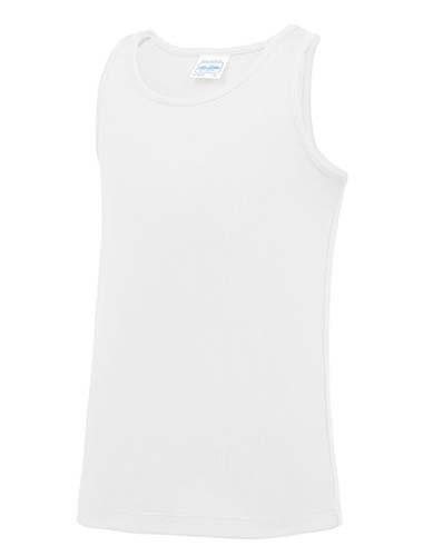 JC007J Kids` Cool Vest_Arctic-White