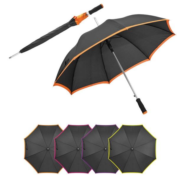 Regenschirm aus Pongee, Automatik_Farbwn