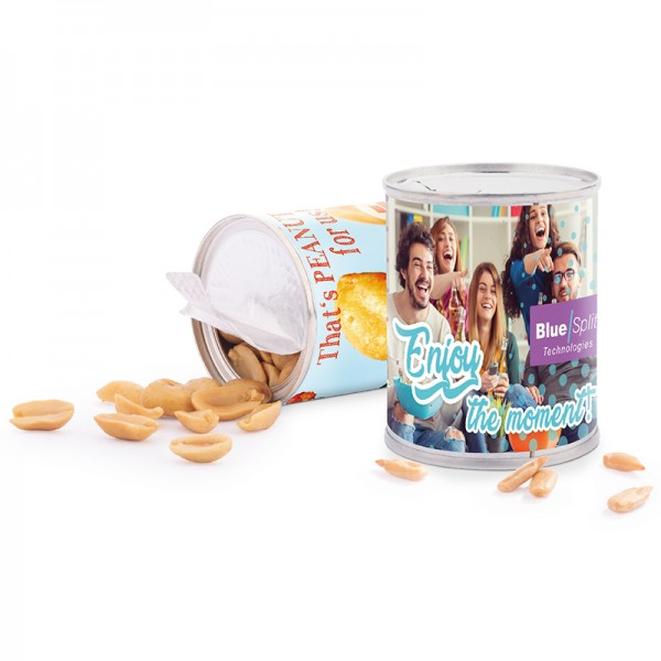 Snack Dose, Erdnüsse geröstet und gesalzen