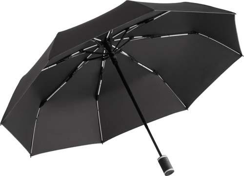 Taschenschirm FARE®-AOC-Mini Style_schwarz-weiss