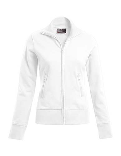 E5295 Women`s Jacket Stand-Up Collar_White