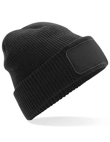 Thinsulate™ Patch Beanie_Black