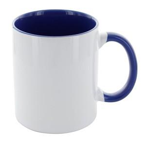 Tasse Carola weiß-blau