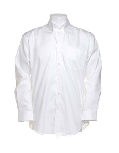 Men`s Classic Fit Shirt Long Sleeve_White