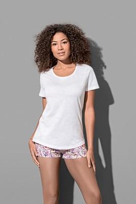 L-S9320 Slub Organic T-Shirt Women