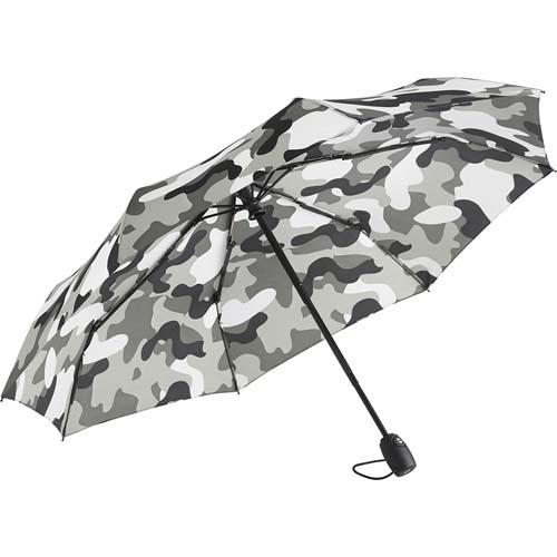 AOC-Mini-Taschenschirm FARE®-Camouflage_grau-kombi