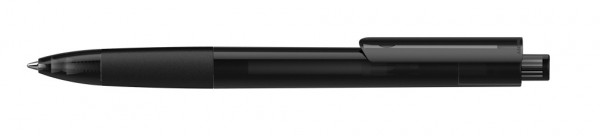 Kugelschreiber Tecto schwarz transparent