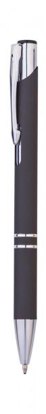 Pen-1310 Metallkugelschreiber Soft | Kunststoff Großraum Mine blau