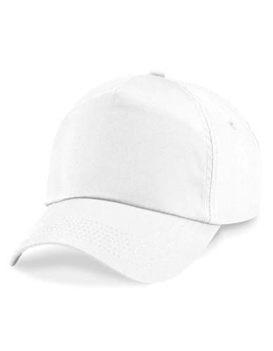 Junior Original 5 Panel Cap_White