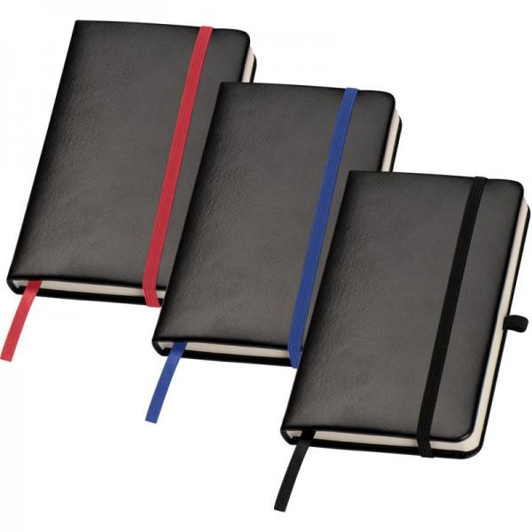 DIN A 6 Notizbuch mit Haftnotizen