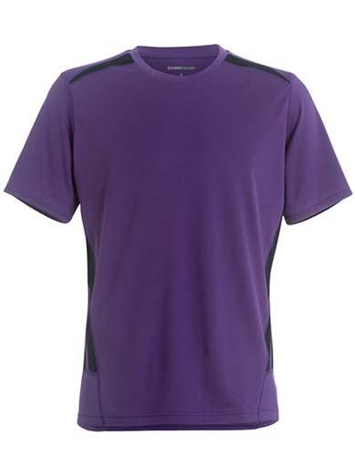 L-K930 Regular Fit Training T-Shirt_Purple_Navy