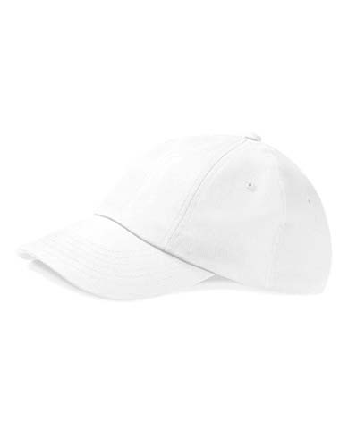 Low Profile Heavy Cotton Drill Cap_White