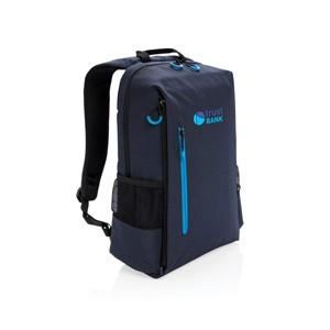 USB Laptop-Rucksack, blau