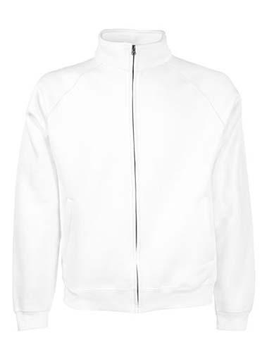 F457N Classic Sweat Jacket_White