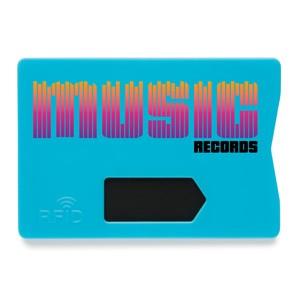 Anti-Skimming-Kartenhalter blau