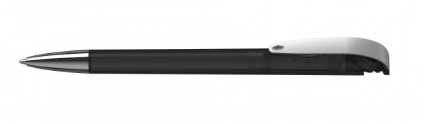 Kugelschreiber Jona Mmnhell schwarz transparent