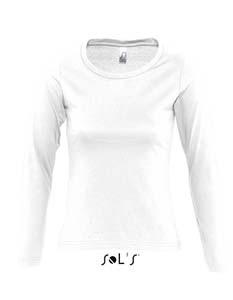 L245 T-Shirt Damen Rundhals Langarm