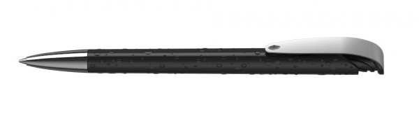 Kugelschreiber Jona structure/high gloss Mmn schwarz
